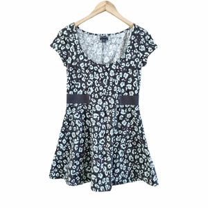 American Eagle Floral Fit and Flare Dress Medium